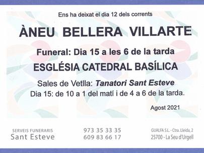 Àneu Bellera Villarte