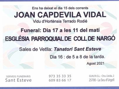 JOAN CAPDEVILA VIDAL