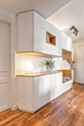 Meuble sur mesure Amenagement EntreeFlorence Ancillon architecte interieur paris