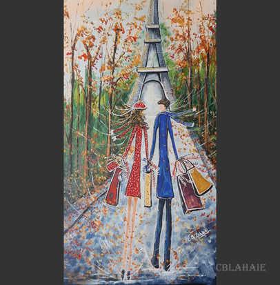 Escapade à Paris: 864$