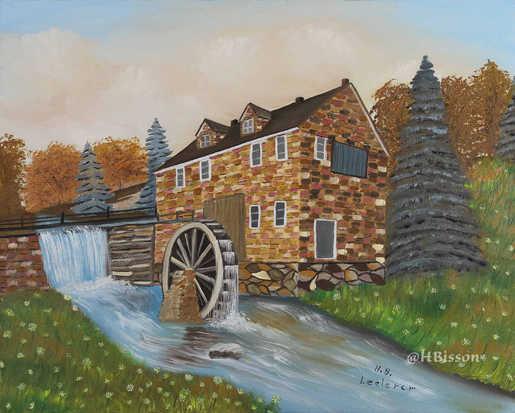 Le moulin : 245$