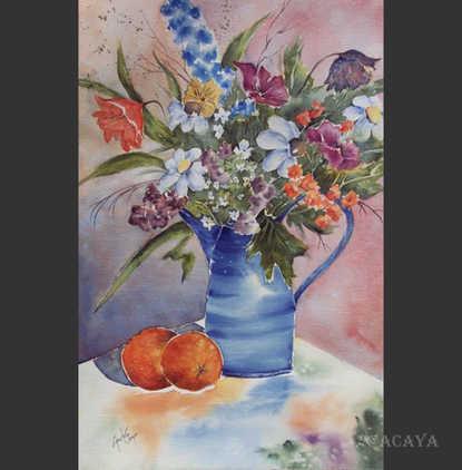 Bouquet champêtre: 425$