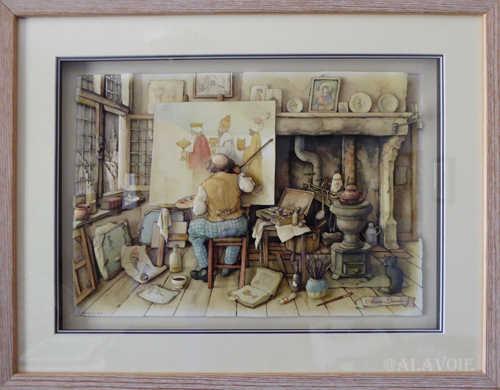 L'atelier du peintre: 425$