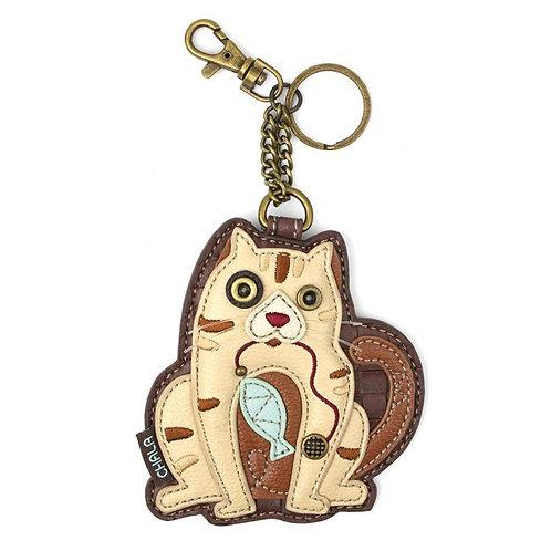 Cat-A - Key Fob/Coin Purse