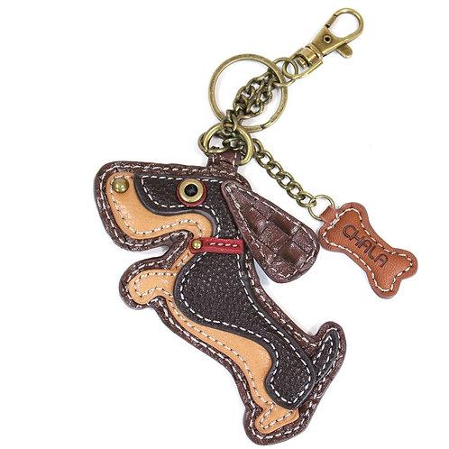 Wiener Dog - Key Fob/Purse Charm