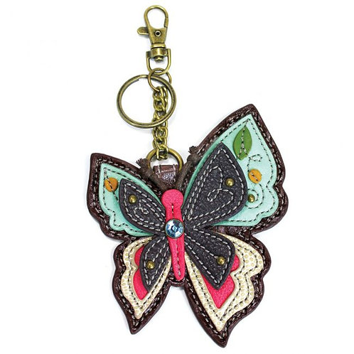 NEW BUTTERFLY - KEY FOB/COIN PURSE