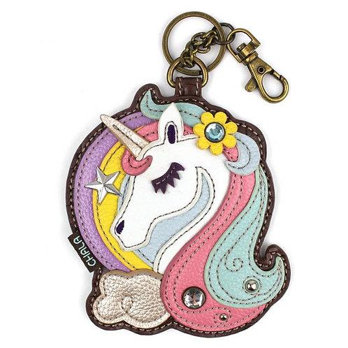 Unicorn- Key Fob / Coin Purse