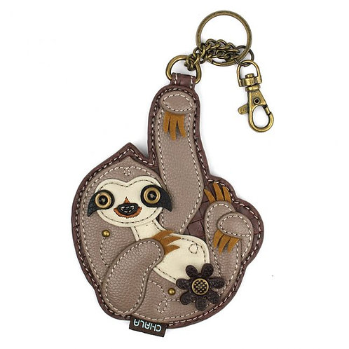 Sloth - Key Fob / Coin Purse
