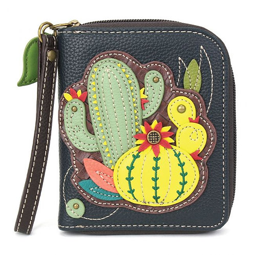 Cactus - Zip Around Wallet