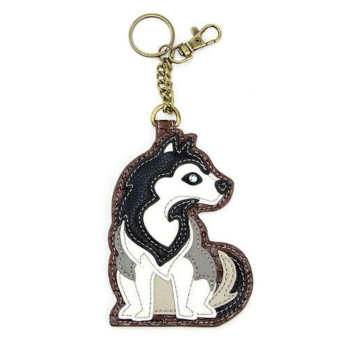 Husky - Key Fob / Coin Purse
