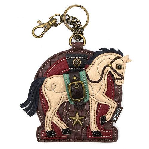 Horse A - Key Fob/Coin Purse