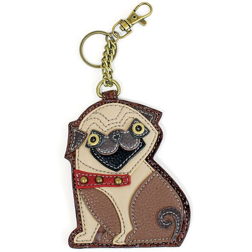 Pug-Key Fob/Coin Purse