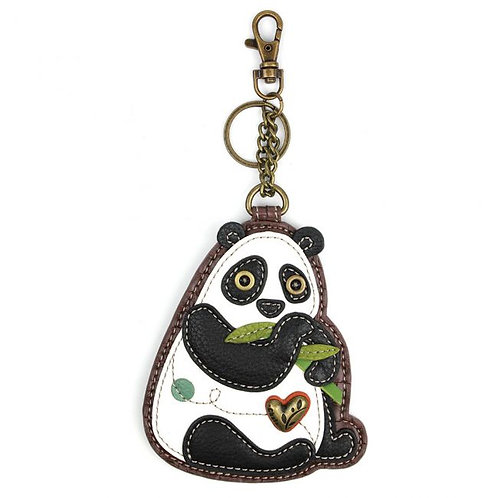 New Panda - Key Fob/Coin Purse