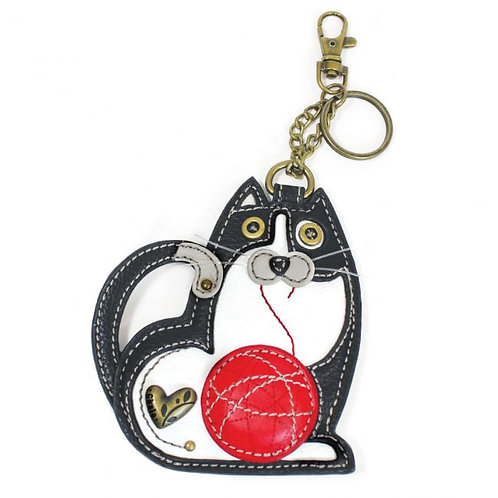Fat Cat - Key Fob / Coin Purse