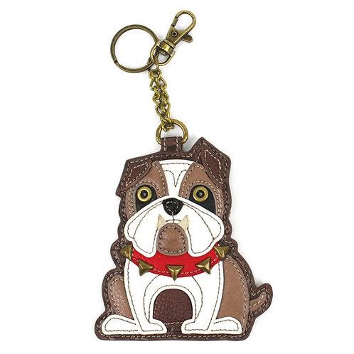 Bulldog - Key Fob / Coin Purse