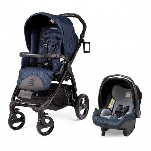 Carrinho Peg Perego Book Plus com Bebê Conforto Primo Viaggio