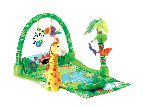 Tapete Rainforest Melodies and Lights Deluxe - Fisher Price