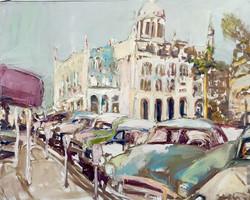La Vida Cuba_ El Capital_32x48_oil on canvas_anaguzman
