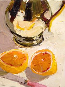 Juicy+Appeal+oil+on+paper8+X+10+2012