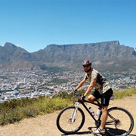 Cycling around Table Mountain National P