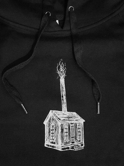 "Printed Hoodie ""No Place Like Home"""