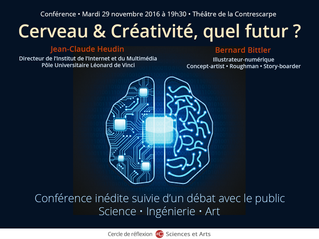 CERVEAU & CREATIVITE, QUEL FUTUR ?
