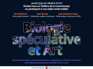 09/06 - Biologie spéculative et Art
