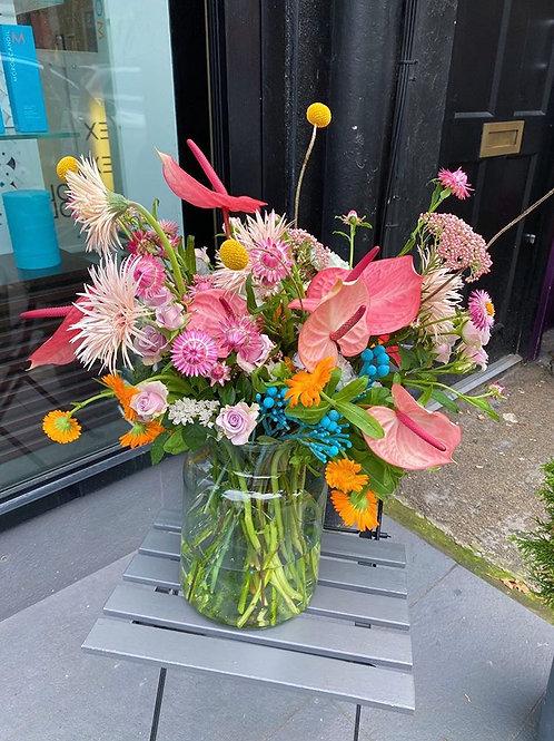 XL greta vase arrangement