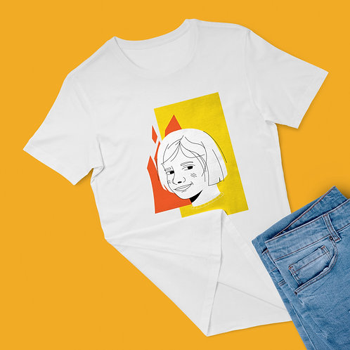 Disaster girl graphic tee