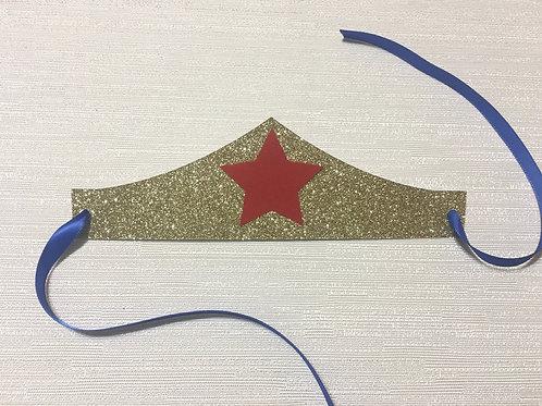 Wonder Woman Inspired Party Favors, Wonder Woman Inspired Headband