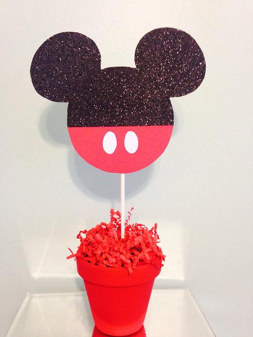 Mickey Mouse Centerpiece, Mickey Animal Safari Centerpiece