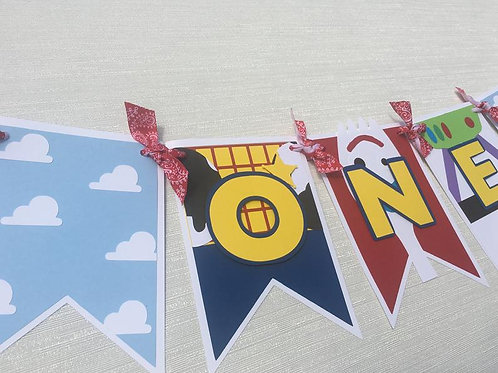 Toy Story Inspired Banner