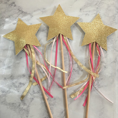 Star Wand, Princess Wand, Fairy Wand, Unicorn Wand, Magic Wand