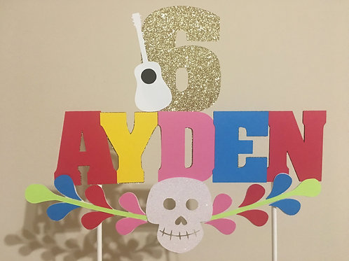 Coco Inspired Cake Topper