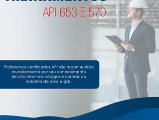 Treinamentos API 653 e 570