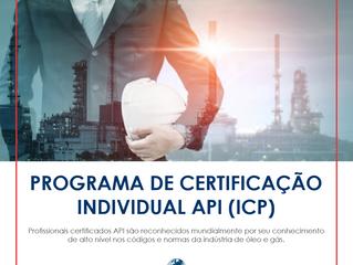 Programa de Certificação Individual API