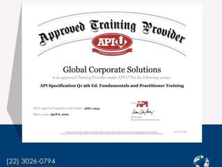 Certificados do API Spec Q1 e API Spec Q2