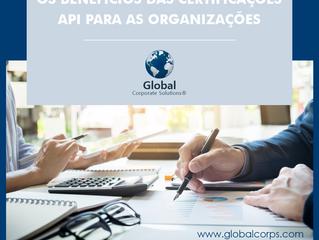 Os benefícios das Certificações API para as organizações