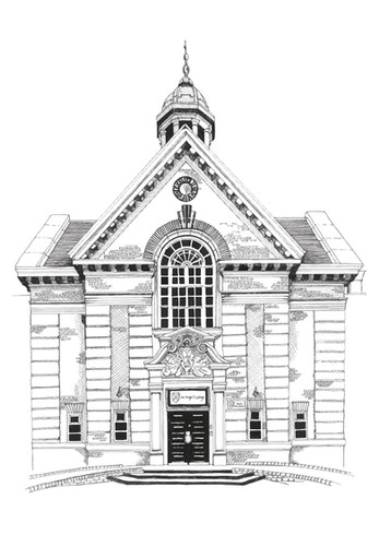 Main Building, St Hugh's College Oxford