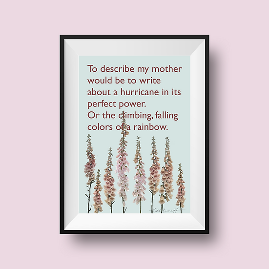 Hurricane Mother's Day print