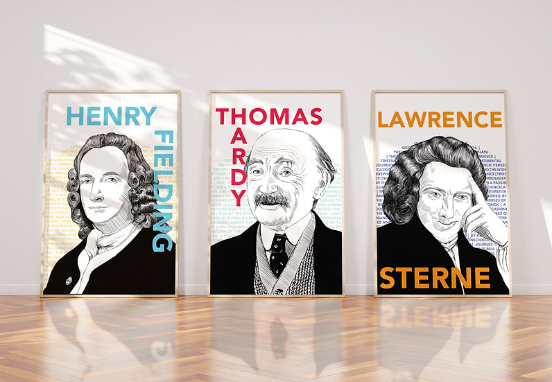 Male pioneers of the British novel