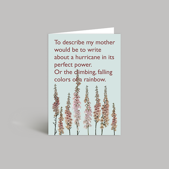 Hurricane Mother's Day card