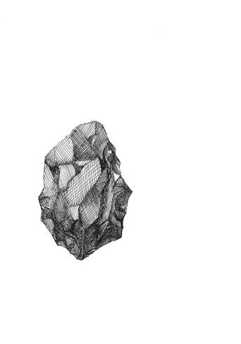 Title page illustration: rock