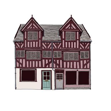Tudor building, Shrewsbury