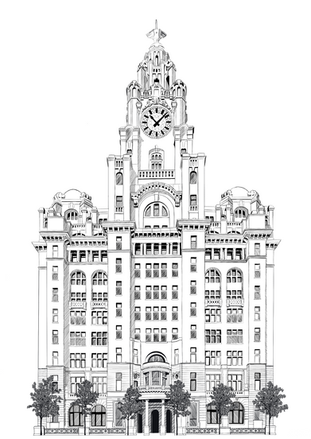 The Liverpool Liver Building