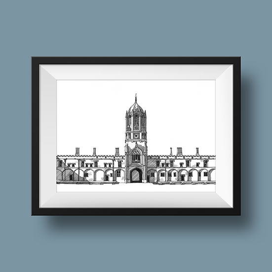 Tom Tower, Christ Church College