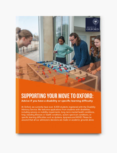 Oxford applicant support