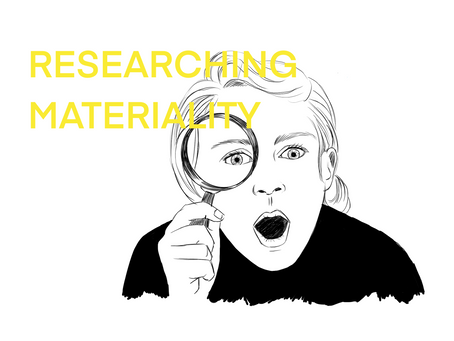 QofR: Researching materiality