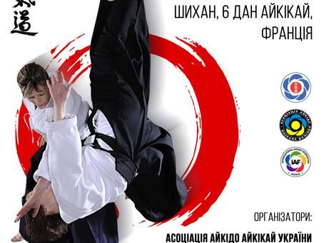 2-4 лютого 2018, Київ, Micheline Tissier (6-й дан)