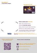 Cartão de Premiação Personalizável - Visa